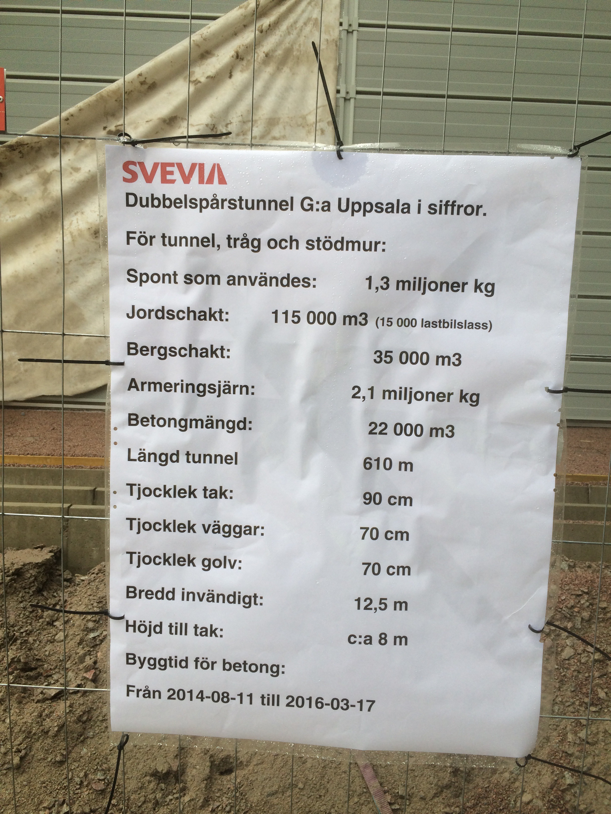 info om tunnelbygget